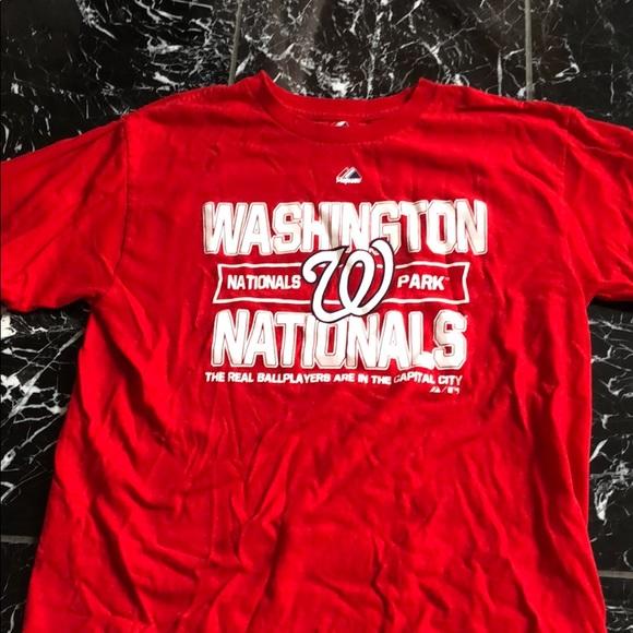f7d6c399 Majestic Tops | Mlb Washington Nationals Baseball Team Tshirt | Poshmark